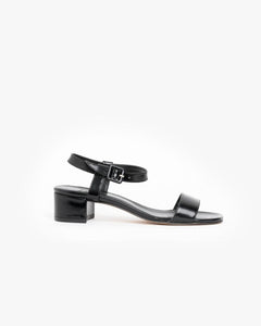 Sophie Sandal Calf in Black Shine by Maryam Nassir Zadeh at Mohawk General Store - 1