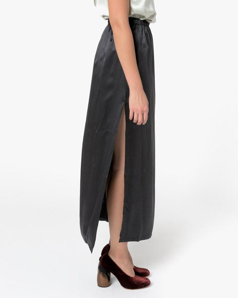Azour Skirt in Black by Baserange at Mohawk General Store - 3