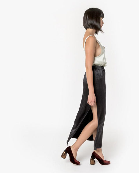 Azour Skirt in Black by Baserange at Mohawk General Store - 4