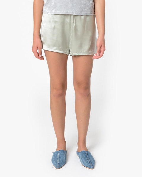 Azour Short in Dusty Blue by Baserange at Mohawk General Store - 1