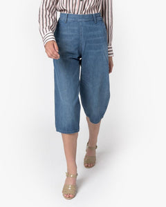 Plain Front Denim Culottes by Levi's Vintage at Mohawk General Store