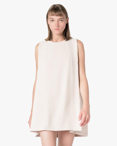 Boatneck Open Back Dress in Cream by Kaarem at Mohawk General Store