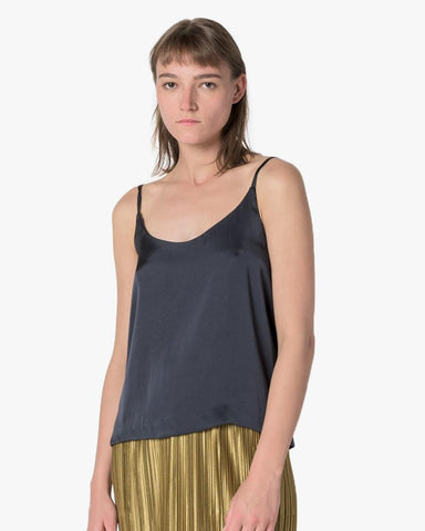 Camisole in Dark Navy by SMOCK Woman at Mohawk General Store