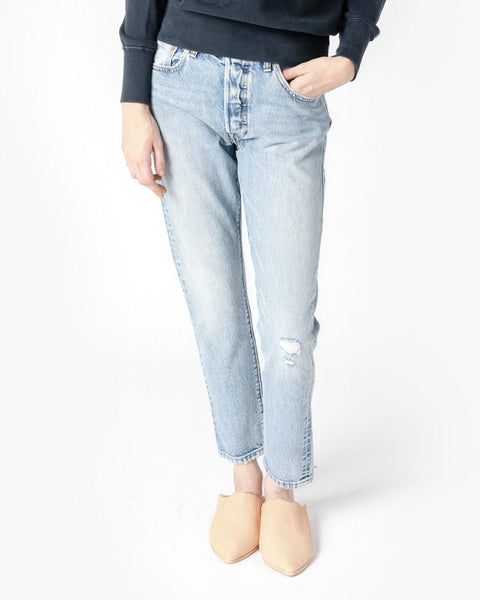 White Oak 501 Skinny Jeans in Light Vintage by Levi's Vintage Clothing at Mohawk General Store