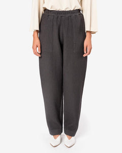 Canvas Pants in Charcoal by Black Crane at Mohawk General Store