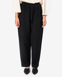 Canvas Pants in Black by Black Crane at Mohawk General Store