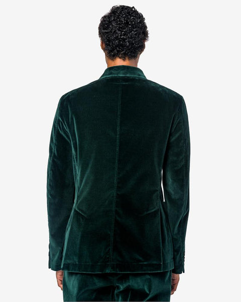 Doria Jacket in Verde by Barena at Mohawk General Store
