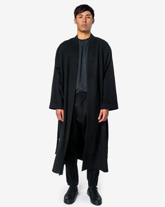 Raw Cut Malarich Coat in Black by Mohawk General Store at Mohawk General Store