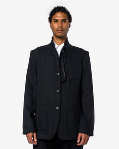 Reversible Franklyn Jacket in Black by Ann Demeulemeester at Mohawk General Store