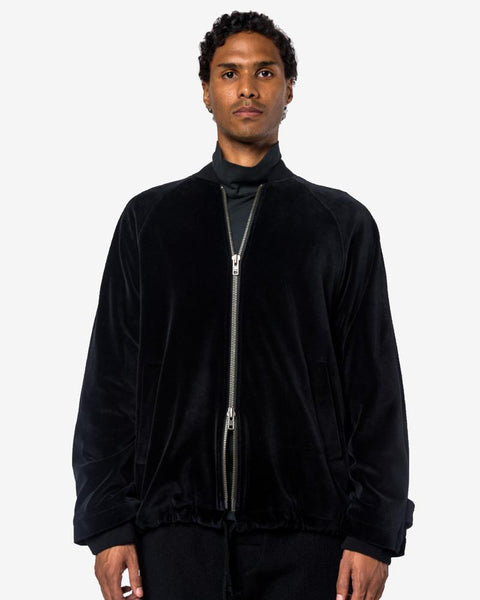 Sioling Bomber in Black by Ann Demeulemeester at Mohawk General Store
