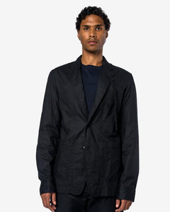Jacket Shirt in Black/White by Ann Demeulemeester at Mohawk General Store