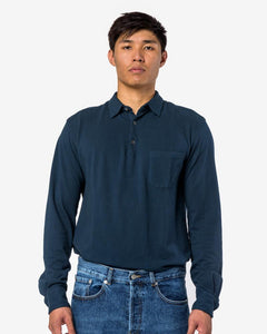 Pavan Shirt in Navy by Barena at Mohawk General Store