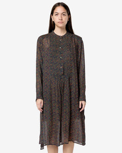 Jraya Dress in Khaki