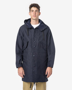 Highland Parka in Dark Navy