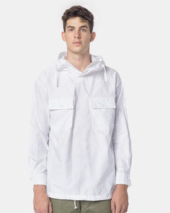0e5be484 Cagoule Shirt in White by Engineered Garments at Mohawk General Store