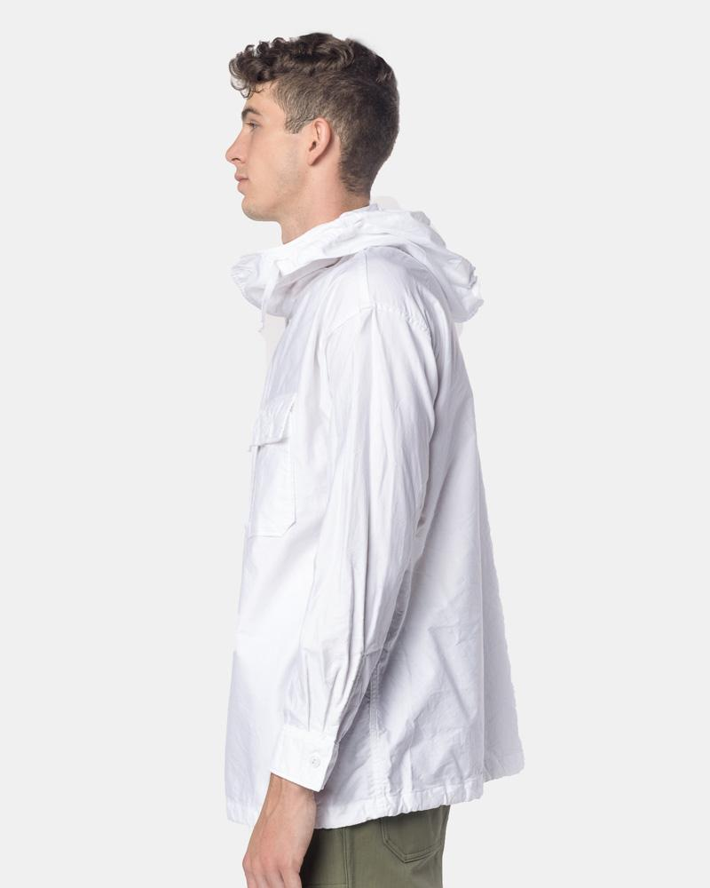 e81b537e ... Cagoule Shirt in White by Engineered Garments at Mohawk General Store  ...