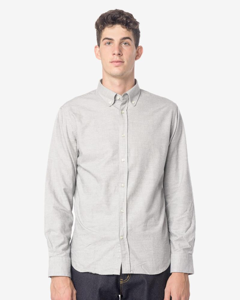 Antime Shirt in Grey by Officine Generale at Mohawk General Store
