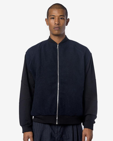 Hemson Bis Cardigan in Navy by Dries Van Noten Mohawk General Store