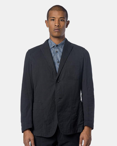Blazer in Black by Issey Miyake Man at Mohawk General Store