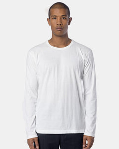 Bio Long Sleeve Basic Shirt in White by Issey Miyake Man at Mohawk General Store