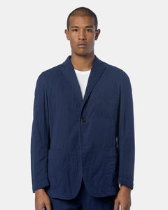 Blazer in Navy by Issey Miyake Man at Mohawk General Store