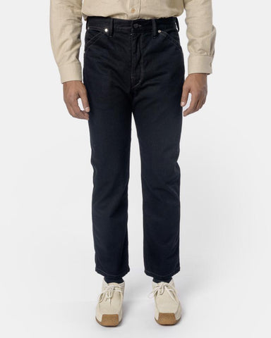 Slim Five Pocket Jeans in Black by Lemaire
