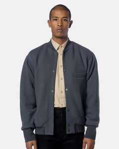 Bomber Jacket in Anthracite by Lemaire Mohawk General Store