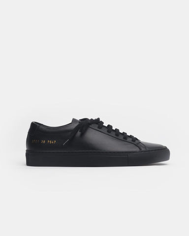 Original Achilles Low 3701 in Black by Woman Common Projects Mohawk General Store
