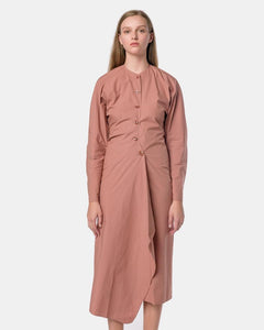 4ed48a0ab3d5ee Shirt Dress in Dusty Pink by Lemaire Mohawk General Store