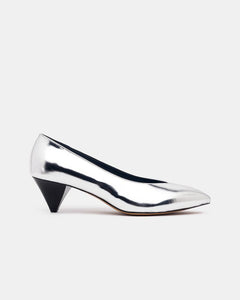 Poomi Pumps in Silver