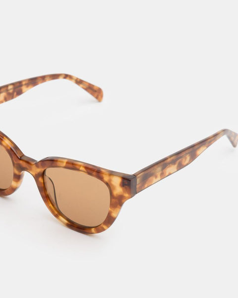 Barton Sunglasses in Amber/Sandstorm by Carla Colour at Mohawk General Store