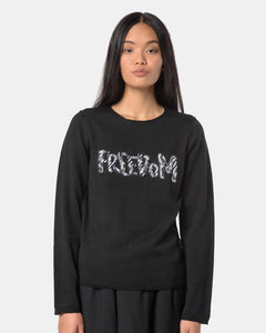 Freedom Sweater in Black