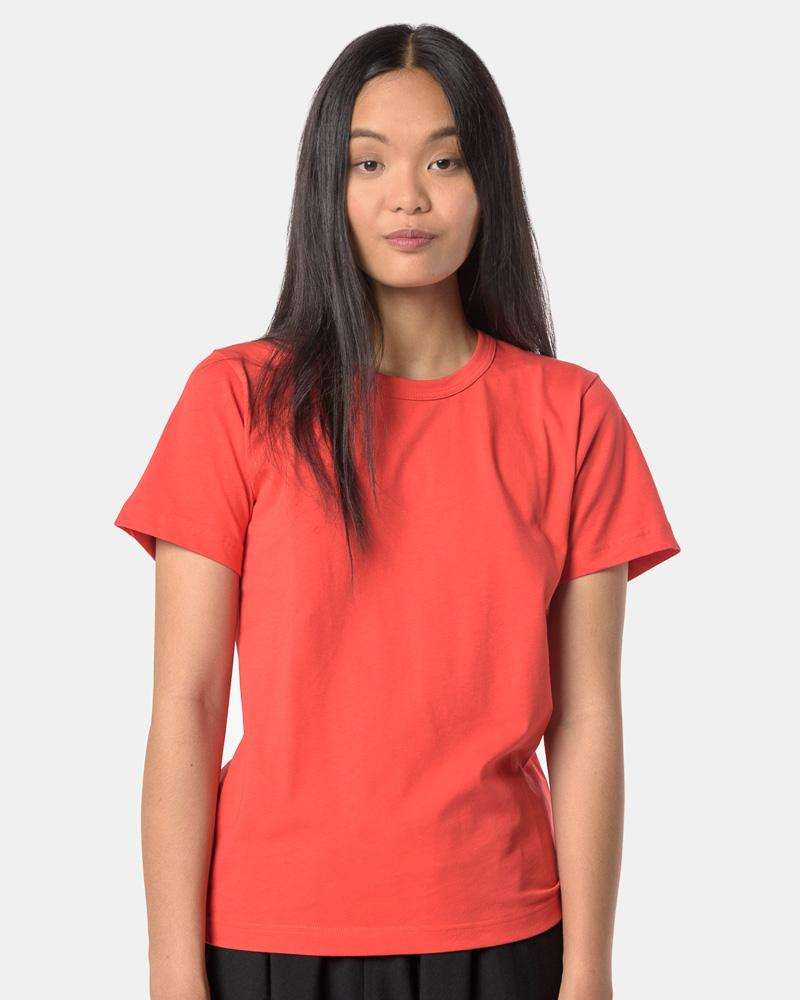 S/S Tee in Blood Orange