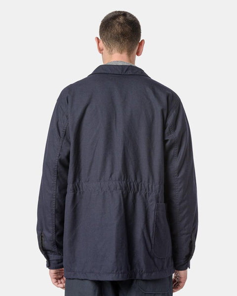 bc2ecbc7 ... Benson Jacket in Dark Navy Uniform Serge by Engineered Garments at Mohawk  General Store