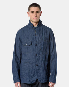 Coverall Jacket in Indigo