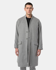 Cashmere Topcoat in Grey
