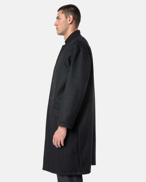 Cashmere Topcoat in Black