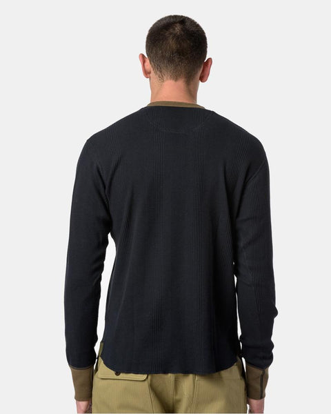 Thermal Henley in Navy