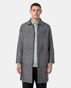 Raglan Coat in Dark Grey