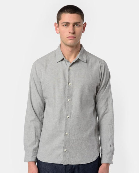 Flannel Shirt in Grey