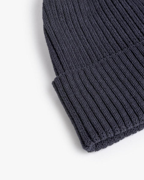 Washi Beanie in Navy by SMOCK Man at Mohawk General Store - 2