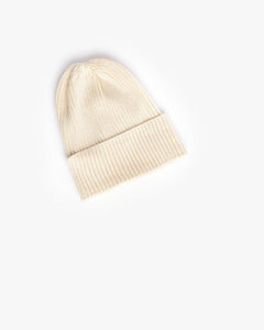 Washi Beanie in White by SMOCK Man at Mohawk General Store - 1