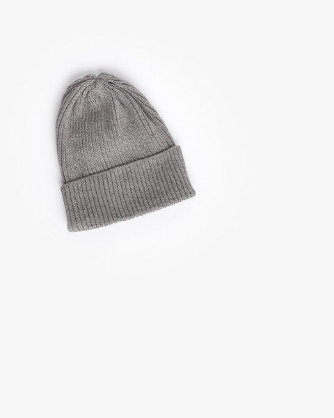 Washi Beanie in Grey by SMOCK Man at Mohawk General Store - 1
