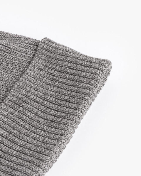 Washi Beanie in Grey by SMOCK Man at Mohawk General Store - 2