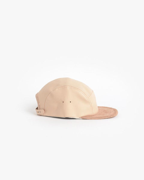 Jet Cap in Natural Leather by Hender Scheme at Mohawk General Store - 1