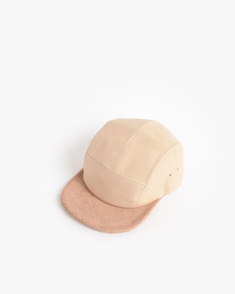 Jet Cap in Natural Leather by Hender Scheme at Mohawk General Store - 2