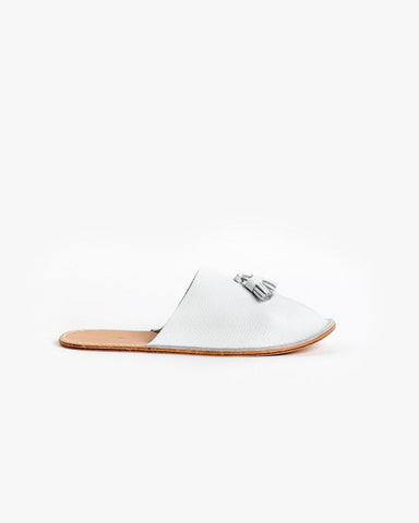 Leather Slipper in White by Hender Scheme at Mohawk General Store - 1