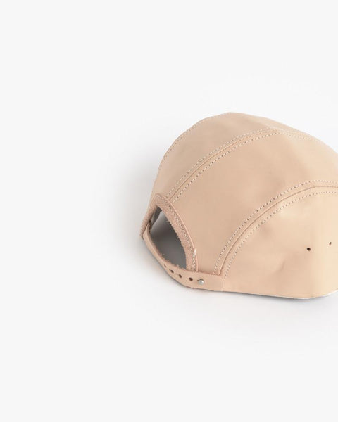 Jet Cap in Natural Leather by Hender Scheme at Mohawk General Store - 3
