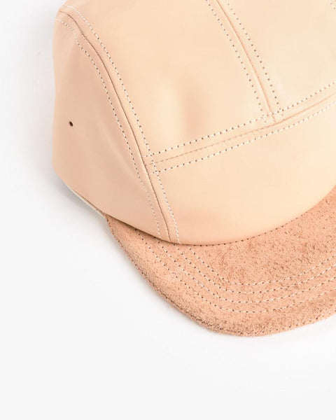 Jet Cap in Natural Leather by Hender Scheme at Mohawk General Store - 4