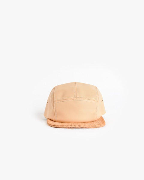 Jet Cap in Natural Leather by Hender Scheme at Mohawk General Store - 5